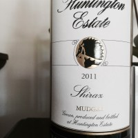 Huntington Estate Shiraz 2011