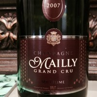 Champagne Mailly Grand Cru Brut 2007