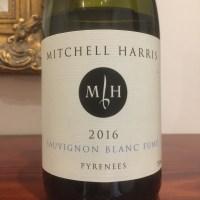 Mitchell Harris Sauvignon Blanc Fumé Pyrenees 2016