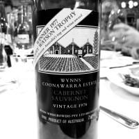An extraordinary Wynns Coonawarra cabernet tasting