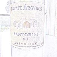 Estate Argyros Santorini Assyrtiko 2018