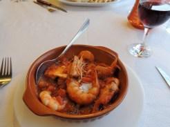 Thalami, Almyrida: Shrimp Saganaki