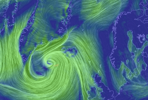 Surprise, Everyone: Another Wind Storm In Iceland, Car Travel Inadvisable