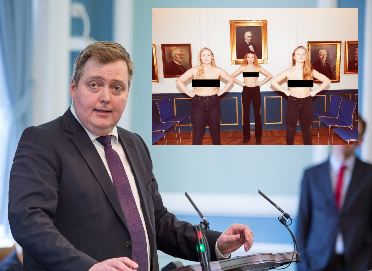 Icelandic MP Outraged Over Topless Photo Shoot In Parliament