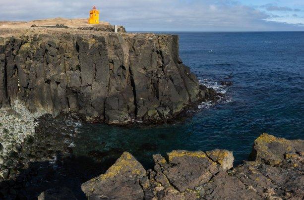 Grímsey Lighthouse by Art