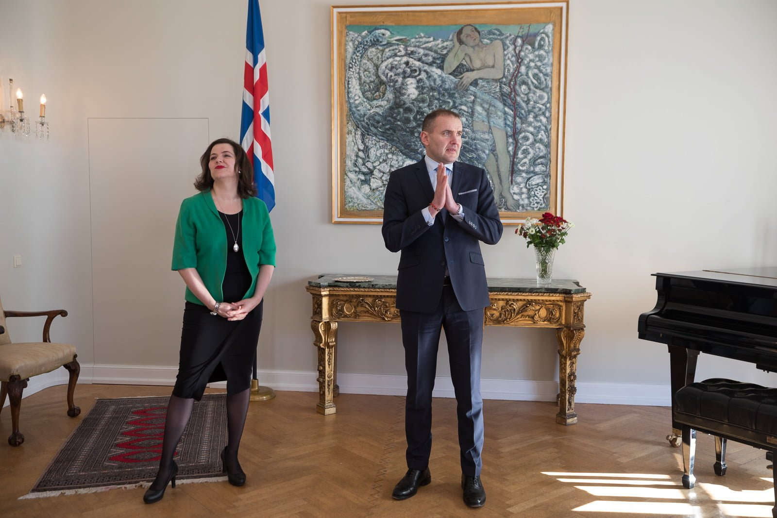 President Of Iceland Says Icelanders Should Stop Joking About Global Warming