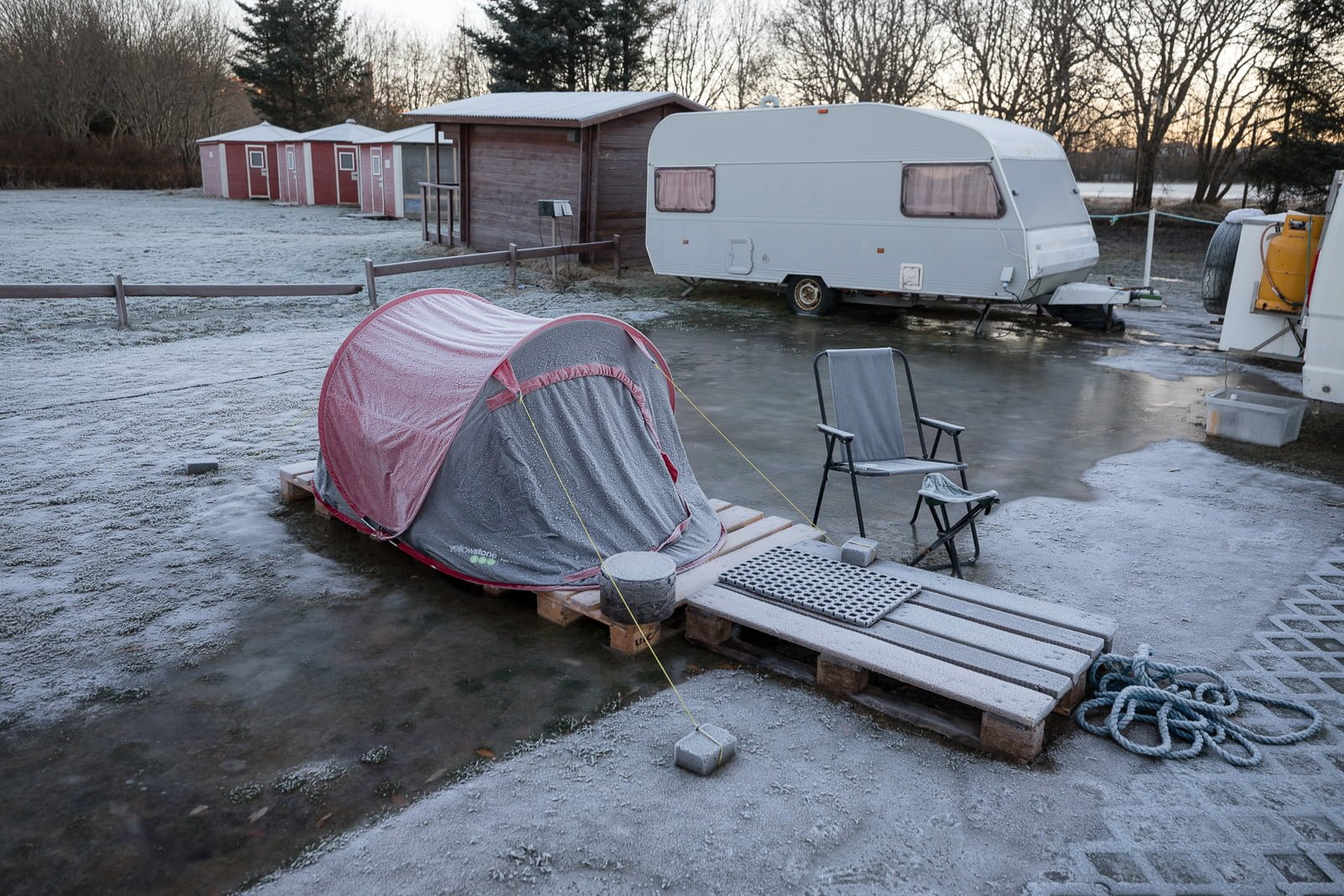 The Voices Unheard: Locals Living In Vans at Reykjavík Campsite Speak Up