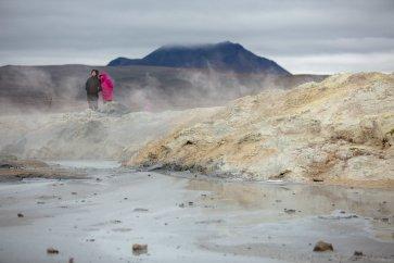 Sulphur streaked landscapes