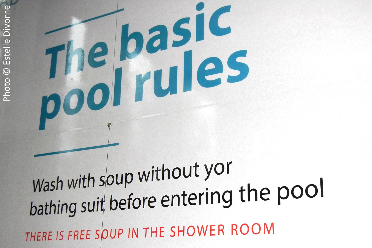"City Swimming Pool Offers ""Free Soup"""