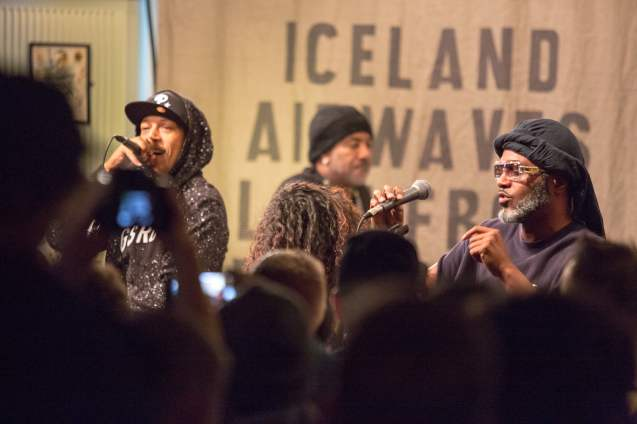 Digable Planets at KEX Hostel