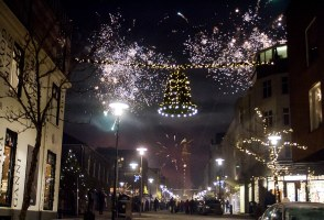 PHOTOS: New Year's Eve In Iceland's Capital