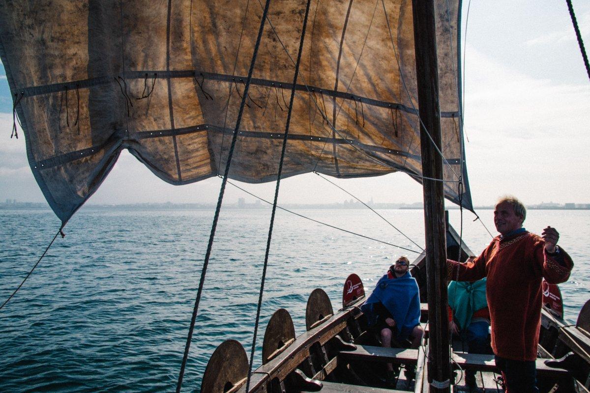 A Seabound Saga: Sailing Like a Viking In Reykjavík