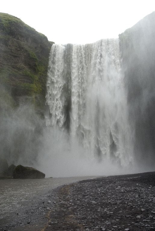 Skógafoss In Danger Of Destruction