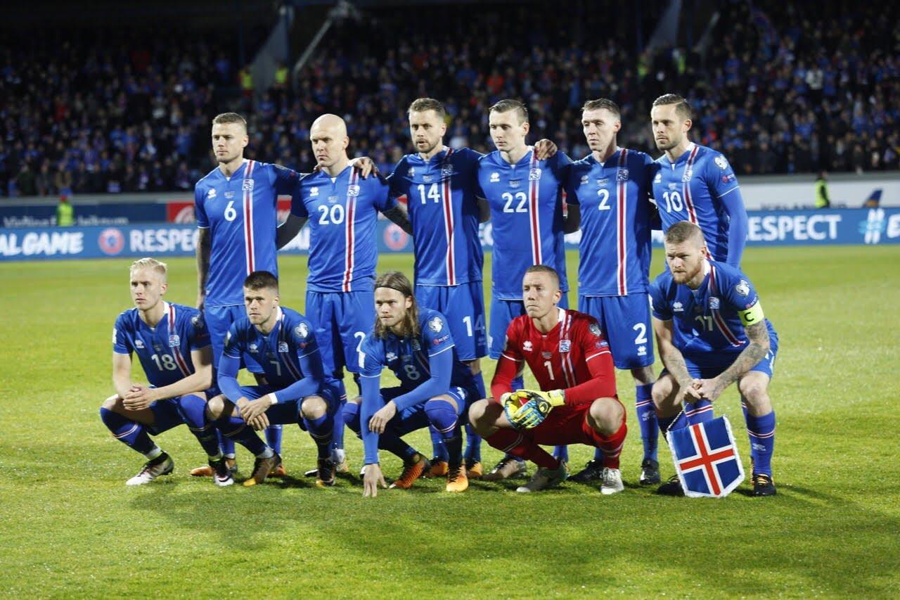 innovative design 23540 3d3d7 Iceland Soccer Jersey World Cup 2018