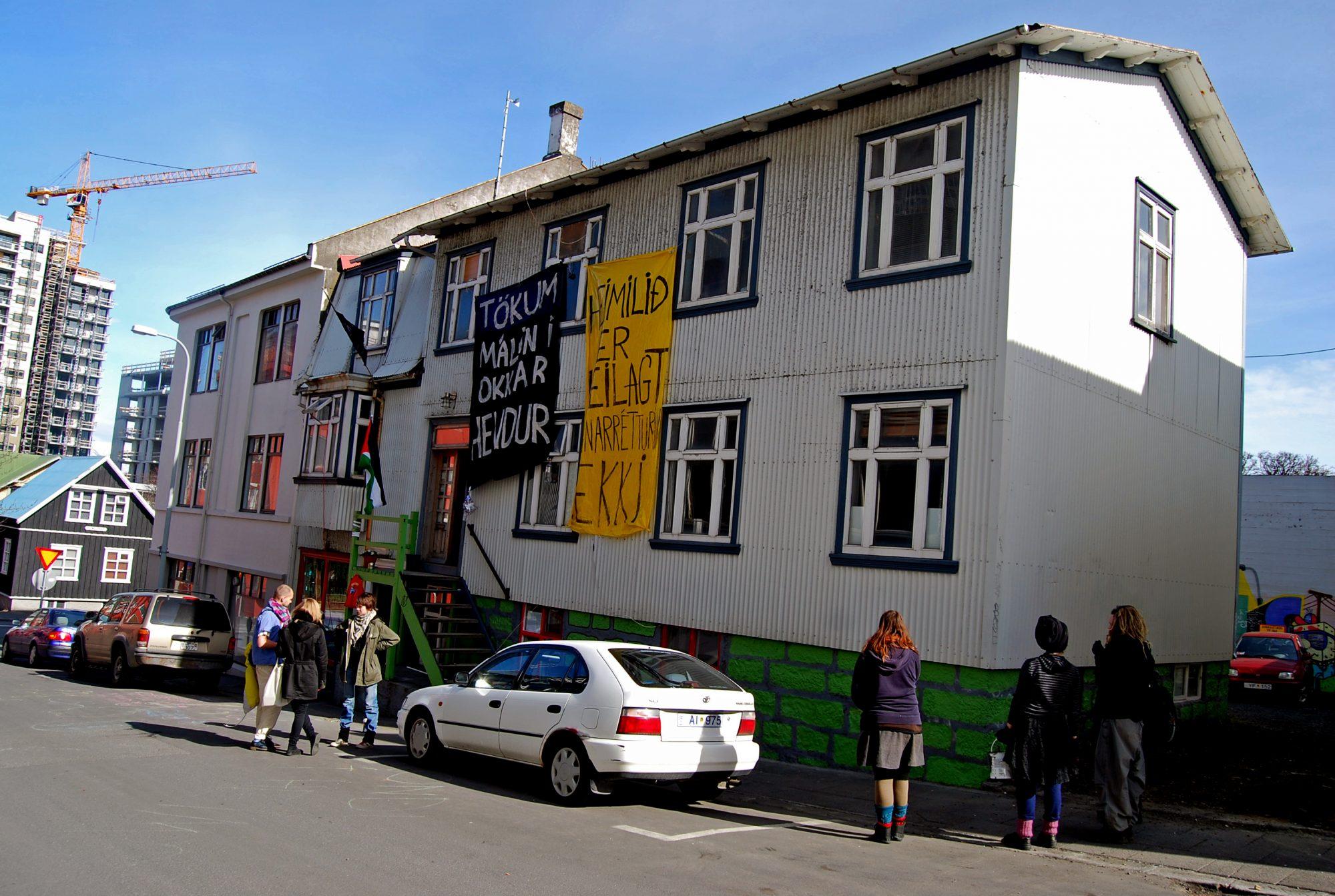 Iceland's Own Paris Commune: The House At Vatnsstígur 4