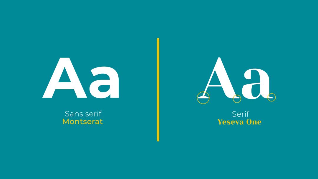 différence entre sérif et sans serif
