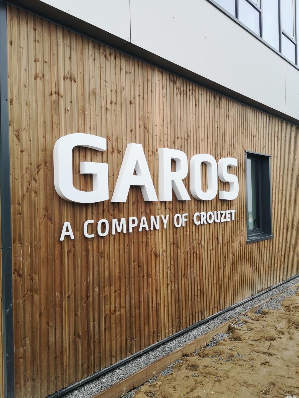 Lettres découpées Garos
