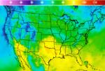 National Temperature Forecast Image