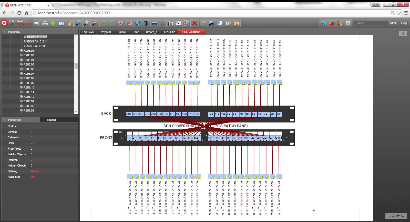 [WRG-6653] Fiber Patch Panel Wiring Diagram