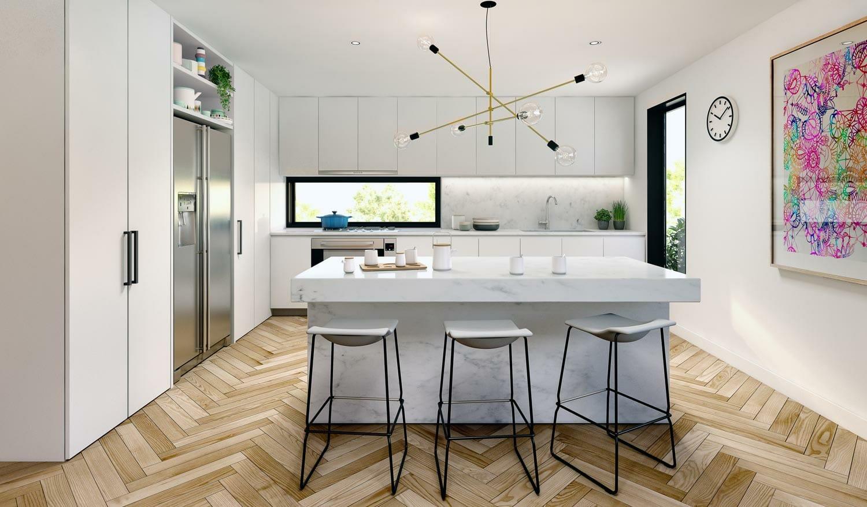 Beach Road Kitchen, Sandringham - Interior Render
