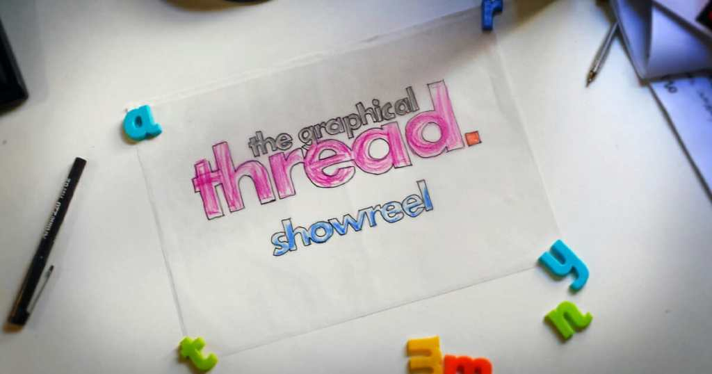 Promo image for The Graphical Thread Showreel