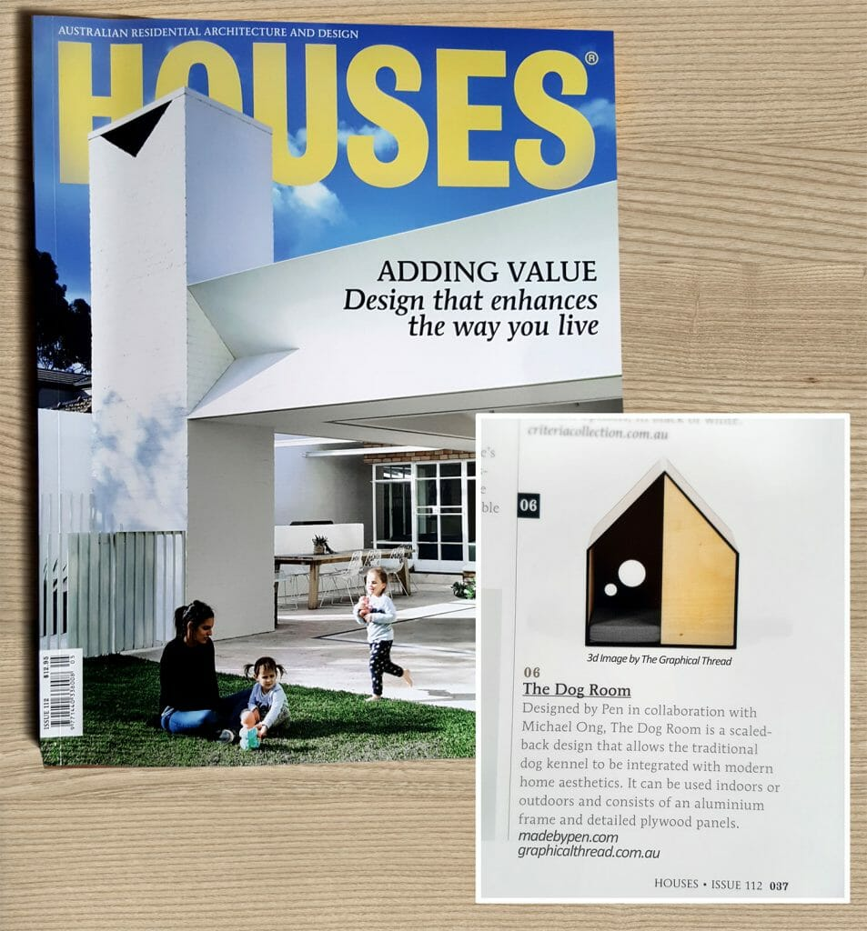 The Graphical Thread In Houses Magazine