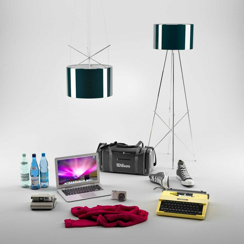 Products In Our 3d Studio