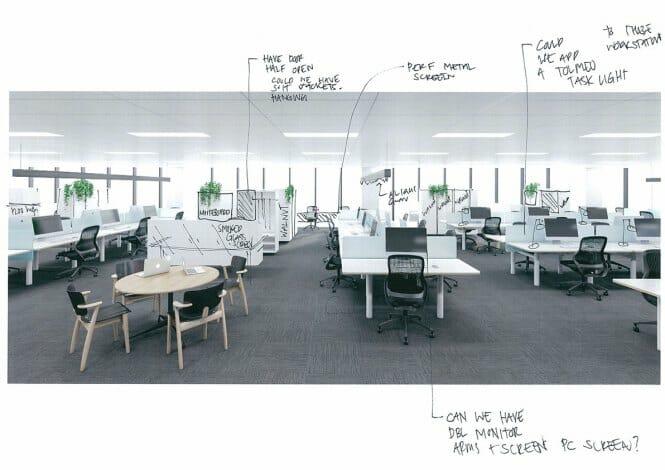 Workspace MarkUp