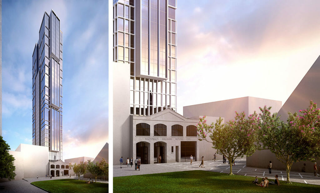Auckland Hotel - Concept Image