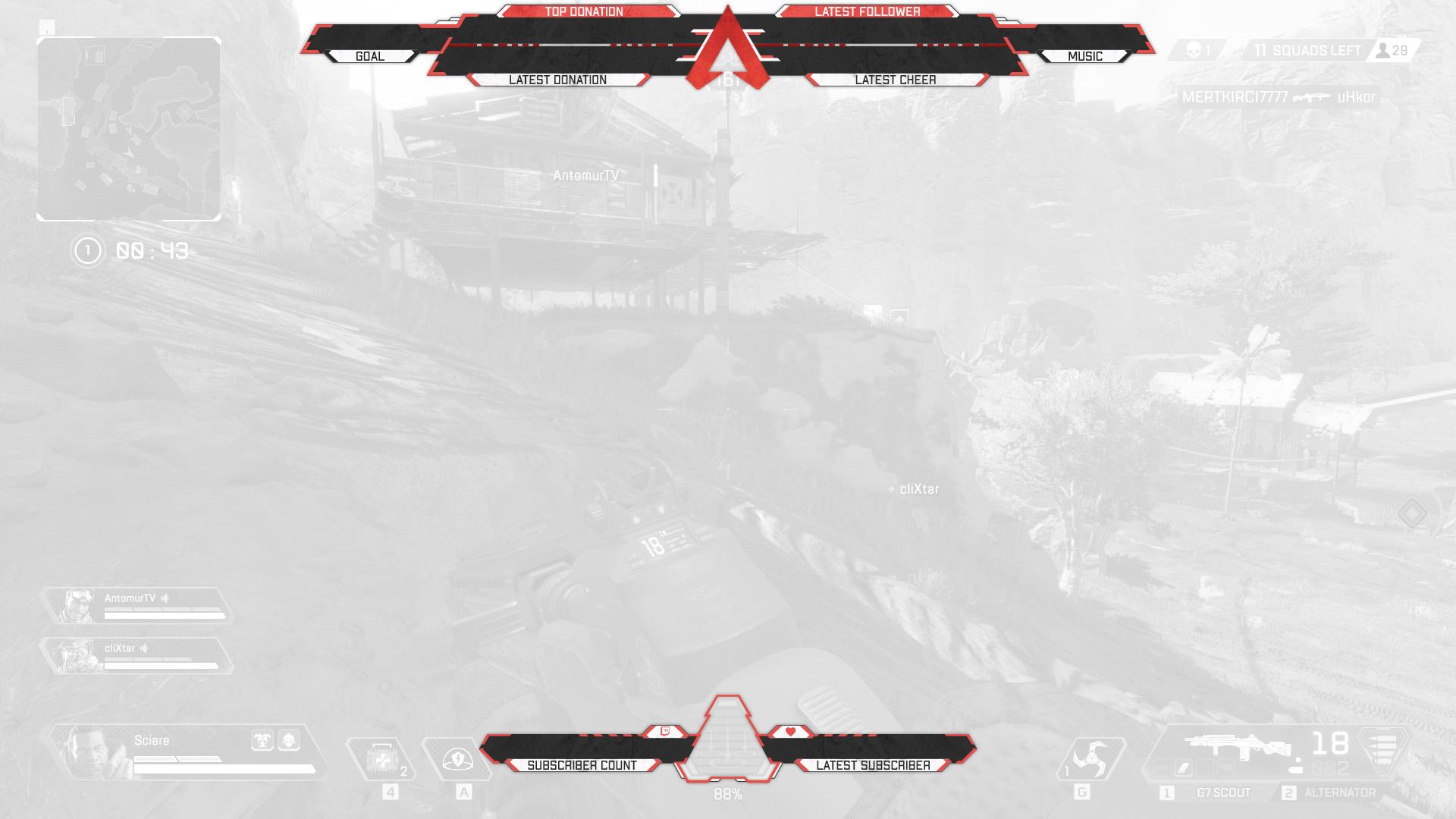 Alegends - Twitch Overlay   Graphicarea net