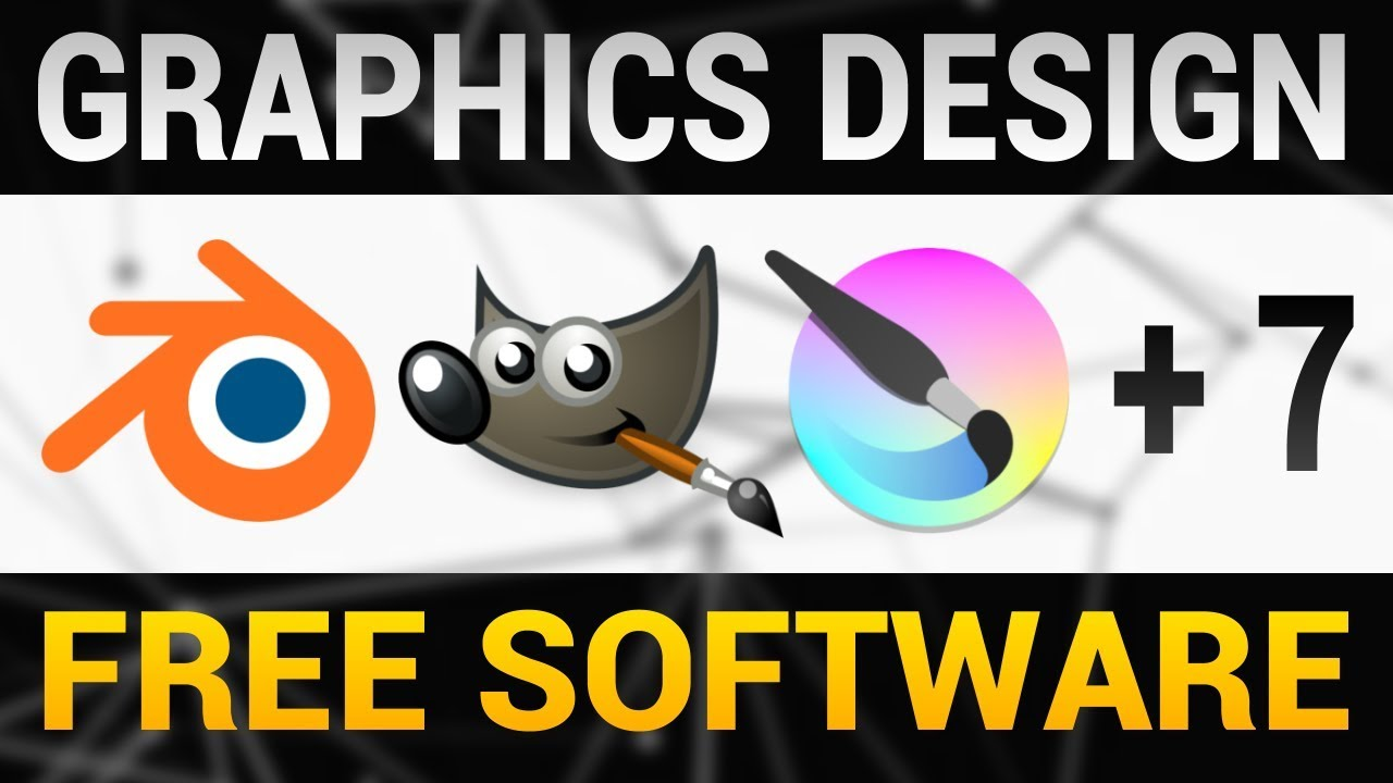 Top 10 Best Free Graphics Design Software 2018 Graphic Art Design