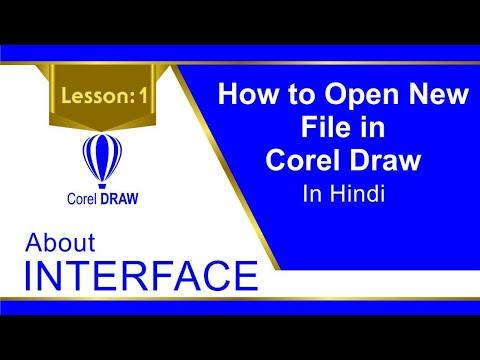 Corel Draw Tutorials In Hindi Lesson 1 Graphic Design Graphic