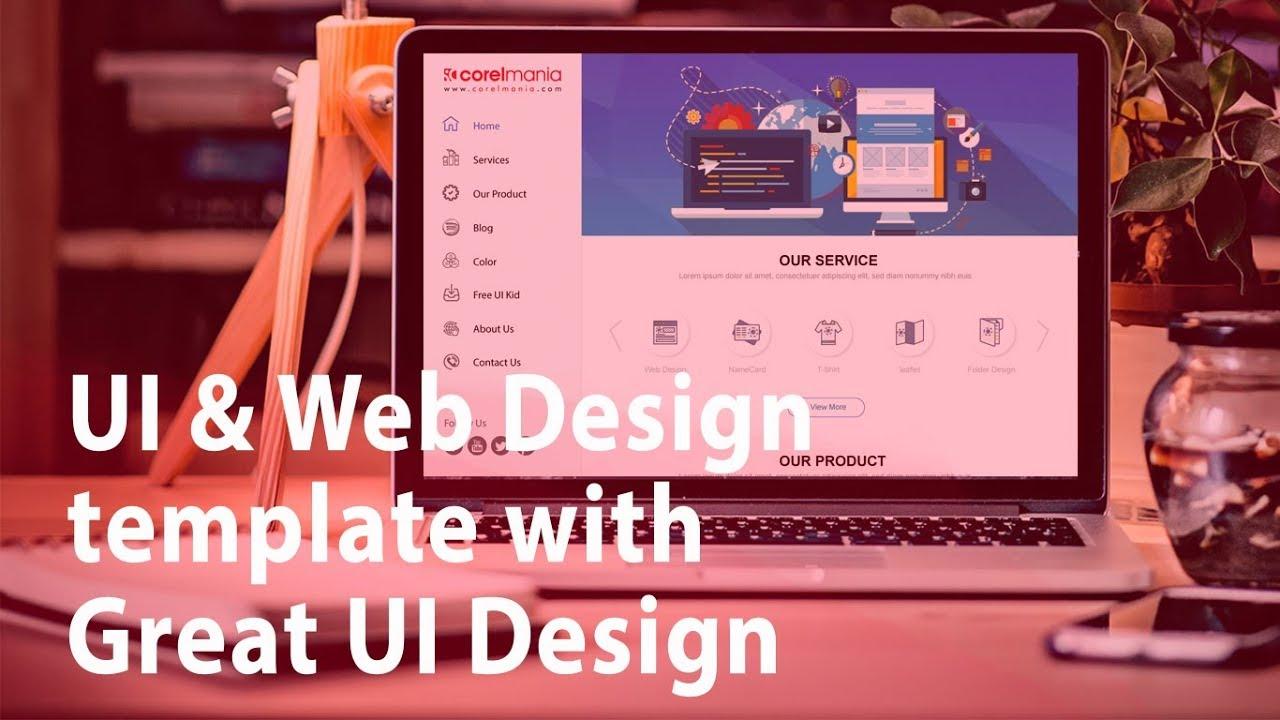 Learn How To Design Website In Adobe Illustrator Ui Web Design