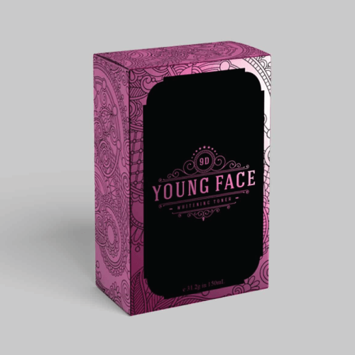 "ออกแบบ Packaging ""Young Face"""