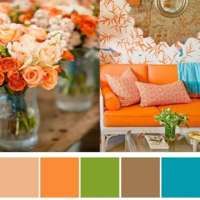This may be my new colors for my house becuse he changed everything that my inspiration came from...now my counter top is that peachy color!