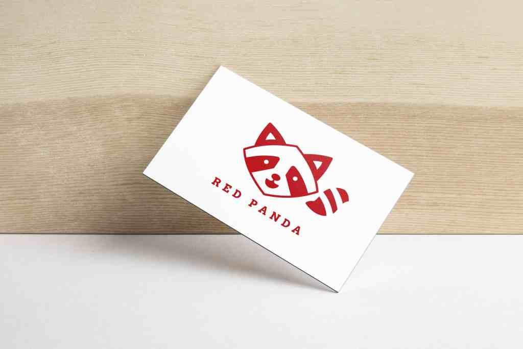ออกแบบโลโก้ Red Panda