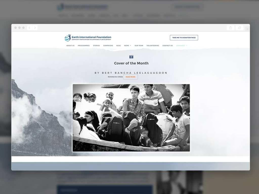 รับทำเว็บไซต์ รับออกแบบเว็บไซต์ Earthinter