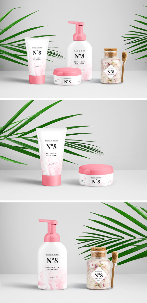 Download Cosmetics Packaging PSD MockUp | GraphicBurger
