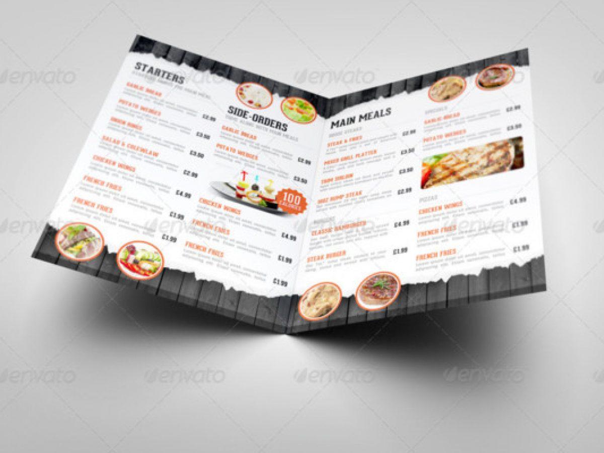 Free restaurant menu card mockup to showcase your cafe menu design in a photorealistic look. 30 Elegant Menu Mockup Psd For Restaurant Branding 2020 Graphic Cloud