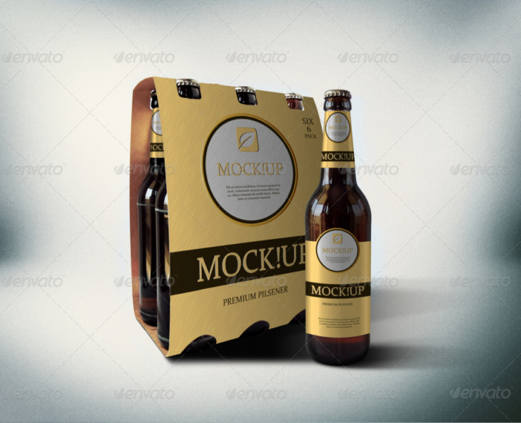 Download 15+ Packaging Bottle Beer Mock-up - Graphic Cloud