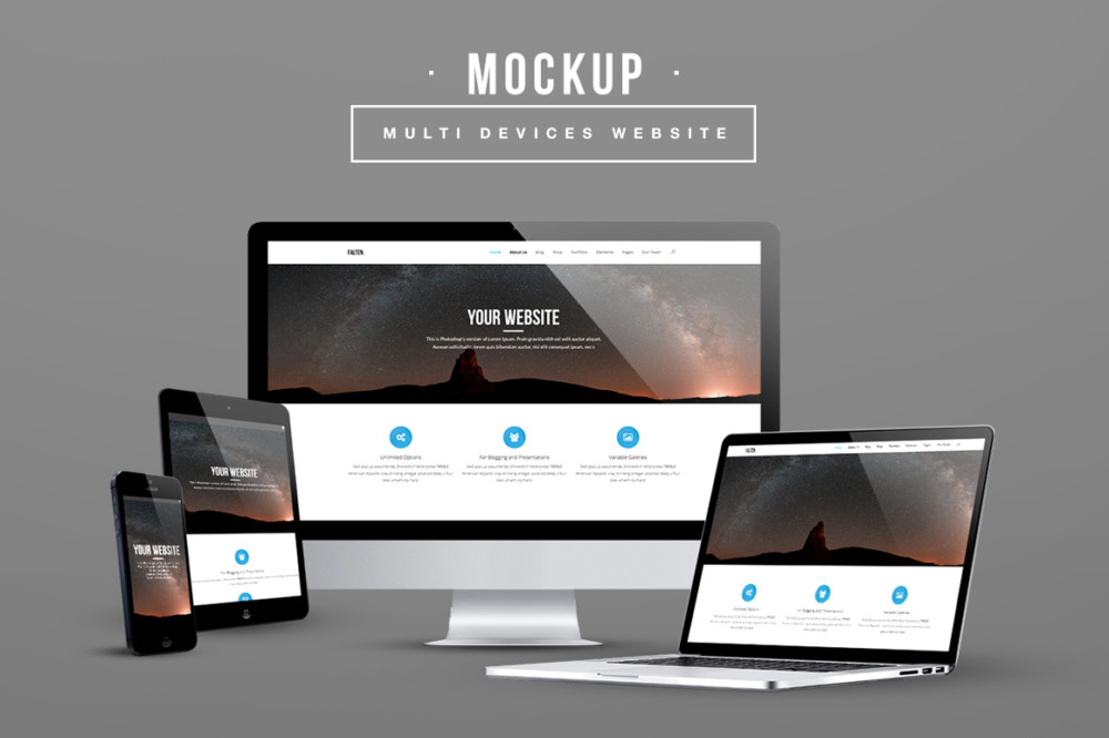 15 Amazing Screen Mockups To Present Your Ui Design Graphic Cloud