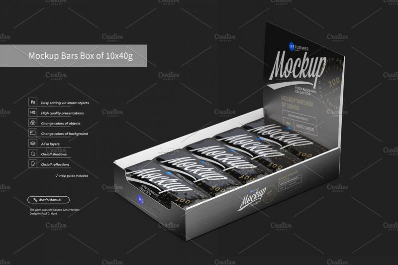 Download 24+ Chocolate Box Mockup PSD Free Download - Graphic Cloud