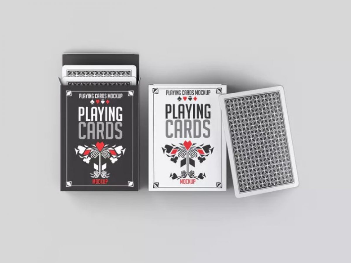 Pack or deck of playing card is with us since hundred of years which if. 15 Unique Playing Card Mockup Psd Download Graphic Cloud