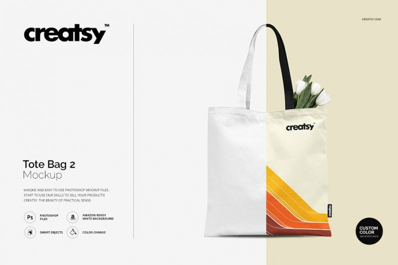 It is a complete business or even wedding invitation set with an invitation card, envelope, business card and, of course, tote bag. 21 Best Tote Bag Mockups Psd Download Graphic Cloud