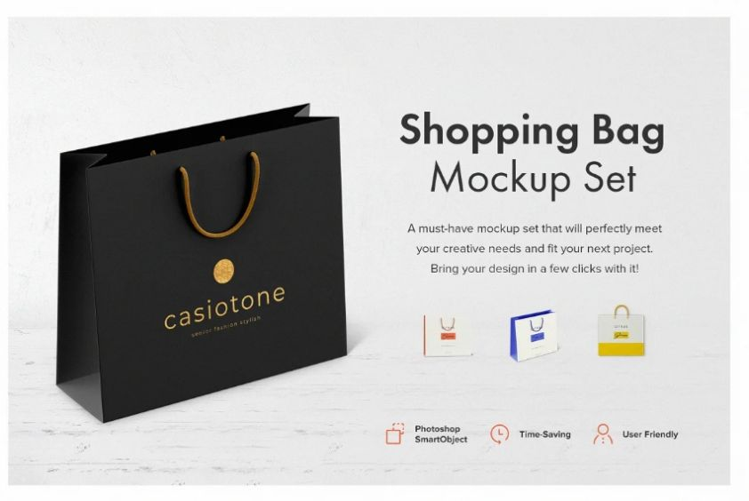 But the benefit of this travel pouch mockup is the. 20 Free Paper Shopping Bag Mockup Psd Downloads Graphic Cloud