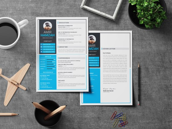 Elegant CV Design Template