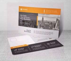 PSD Modern Postcards