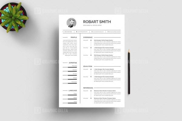 Designer Resume CV Design