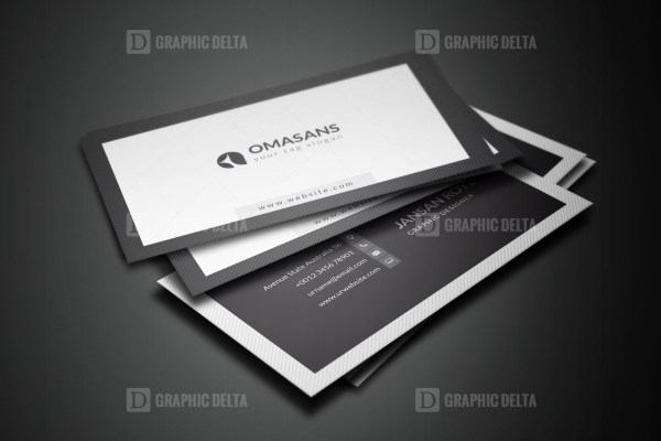 PSD Clean Business Card