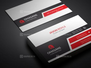 PSD Sleek Business Card Design